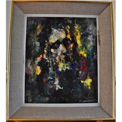 Ecce Homo by Robert Falcucci (1900-1989) O/C
