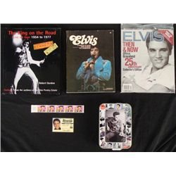 3 Elvis Books King on the Road, Tribute, Then & Now, CD