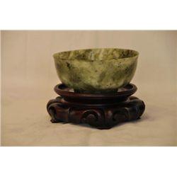 Asian Spinach Jade bowl.