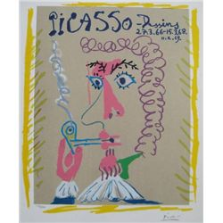 Pipe Smoker by Pablo Picasso