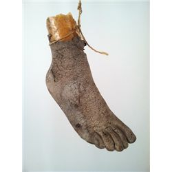 The Evil Dead Severed Foot Prop