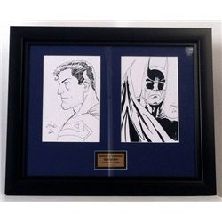 Superman/Batman Original Signed Original Artwork By Ethan Sciver