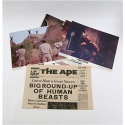 Planet Of The Apes The Ape Newsletter & Lobby Cards