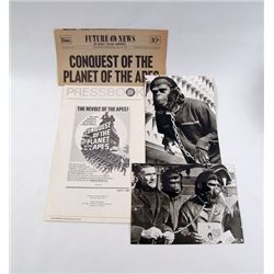 Conquest of the Planet of the Apes Press Book/Newsletter/ Photo