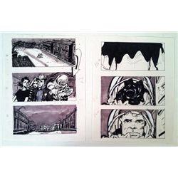 Phantoms Original Storyboards