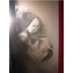 Dracula AD Christopher Lee Studio Made Photo Negative