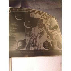 Frankenstein Must Be Destroyed Studio Made Photo Negative