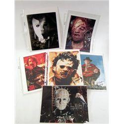 Horror Villian Photo-Autograph Collection