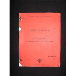 Planet of the Apes Original Shooting Script (1967)