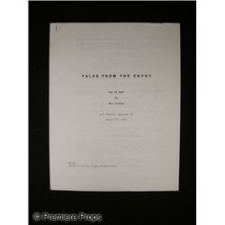 Tales from the Crypt: As Ye Sow Screenplay