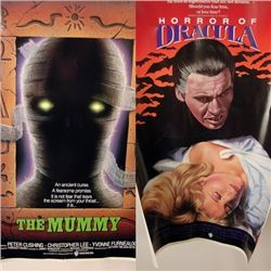 Horror Of Dracula (1958/ The Mummy (1959) Posters
