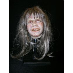 Bust of Linda Blair in The Exorcist