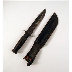 X-Men Origins Wolverine Field Knife & Sheath Prop