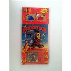 The Rocketeer 3-D Comic & Cassette Set
