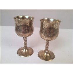 The Godfather Part 2 Silver Cups Props