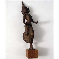 Young Indiana Jones Chronicles Dancing Woman Statue Prop