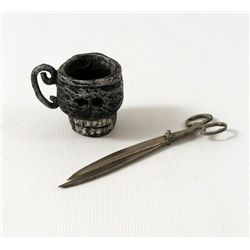 Nightmare Before Christmas Jack Skellington (Chris Sarandon) Scissor & Skull Cup