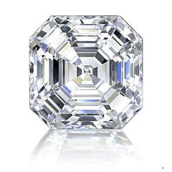 Bianco 5 Carat Asscher Cut Diamond