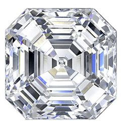 Bianco 6 Carat Asscher Cut Diamond