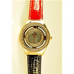 Luxury Women's Crystal Face Fashion Watch