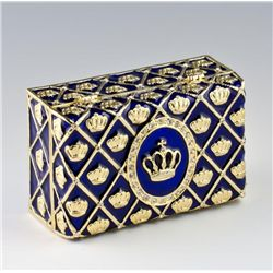 Imperial Crown Faberge Style Presentation Box