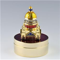 Capitol Faberge Inspired Jewelry Box