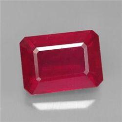 6.95ct Madagascar Red Ruby~ size 11.6 x 8.45 x 5.9