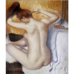 Sergeant's painting of a Nude Woman