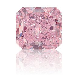 Bianco 1 Carat Pink Radiant Cut Diamond