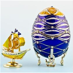 Nautical Faberge Inspired Egg