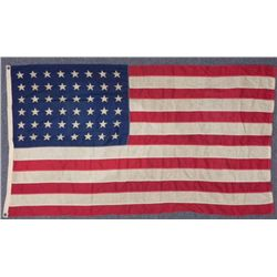 WWII ERA 48 STAR FLAG-3X5'-MULTI-PIECE CONSTRUCTION