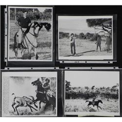 4 Original Press Photos Joseph Kennedy in Spain, Africa
