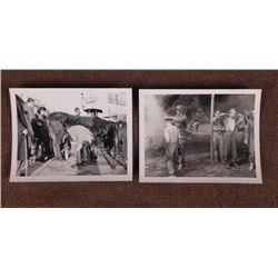 1945 GERMANY PHOTOGRAPH WAR TIME WAITING FOR MILK