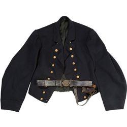 Original Reg. CW Navy Officer's Jacket & Belt