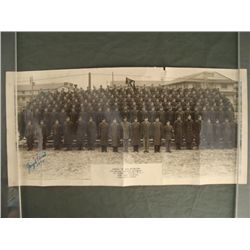 """8x17"""" WWII Photograph of GI's- 7th Medical Training Reg"""