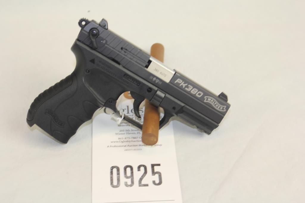 Walther PK380  380ACP PK062829