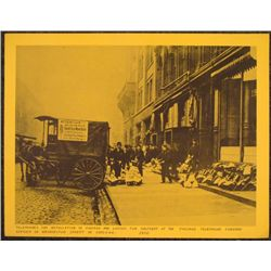 Historical Photograph Telephones Delivered Chicago 1910