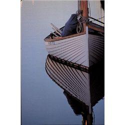 Art Print Dreamin' John Peer Boat on Open Water
