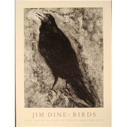 Jim Dine : Crow Art Print