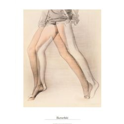 Erwin Blumenfeld Fashion Art Print Legs, New York, 1944