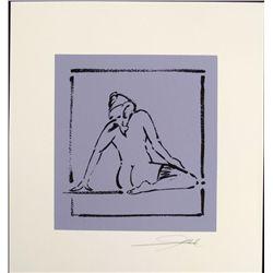Alfred Gockel Abstract Signed Art Print Photo Shoot