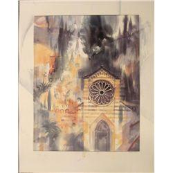 Adorjan Lux Art Print Hommage a Cinque Terre