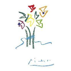 Pablo Picasso Art Print Evening Flowers