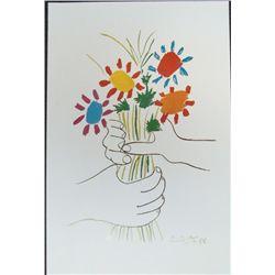 Picasso Petite Fleurs Flowers Large Art Print
