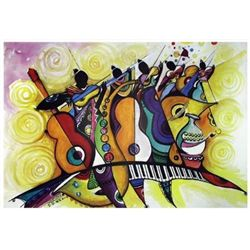 D.D. Ike Musical Band Art Print -Smooth Melody