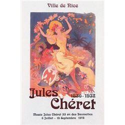Jules Cheret : Ville de Nice Art Print