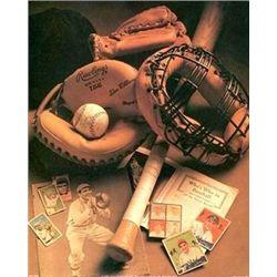 Michael Harrison Baseball Nostalgic Art Print