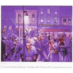 Archibald Motley : Casey & Mae in the Street