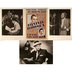 4 Frank Sinatra Repro Posters Gottlieb Tom Dorsey