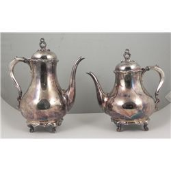 Reed & Barton Provincial Silverplate Tea & Coffee Pot